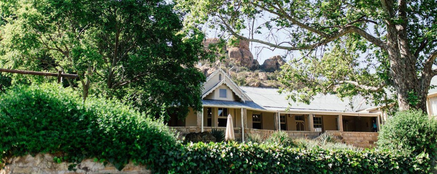 Accommodation and Wedding Venue in Clocolan, Free State
